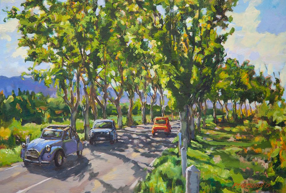 Kutscher tree lined road near saint remy 1000 uhafeq