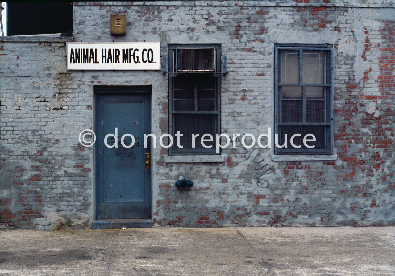 Animal hair mfg co 1980 zprtnq
