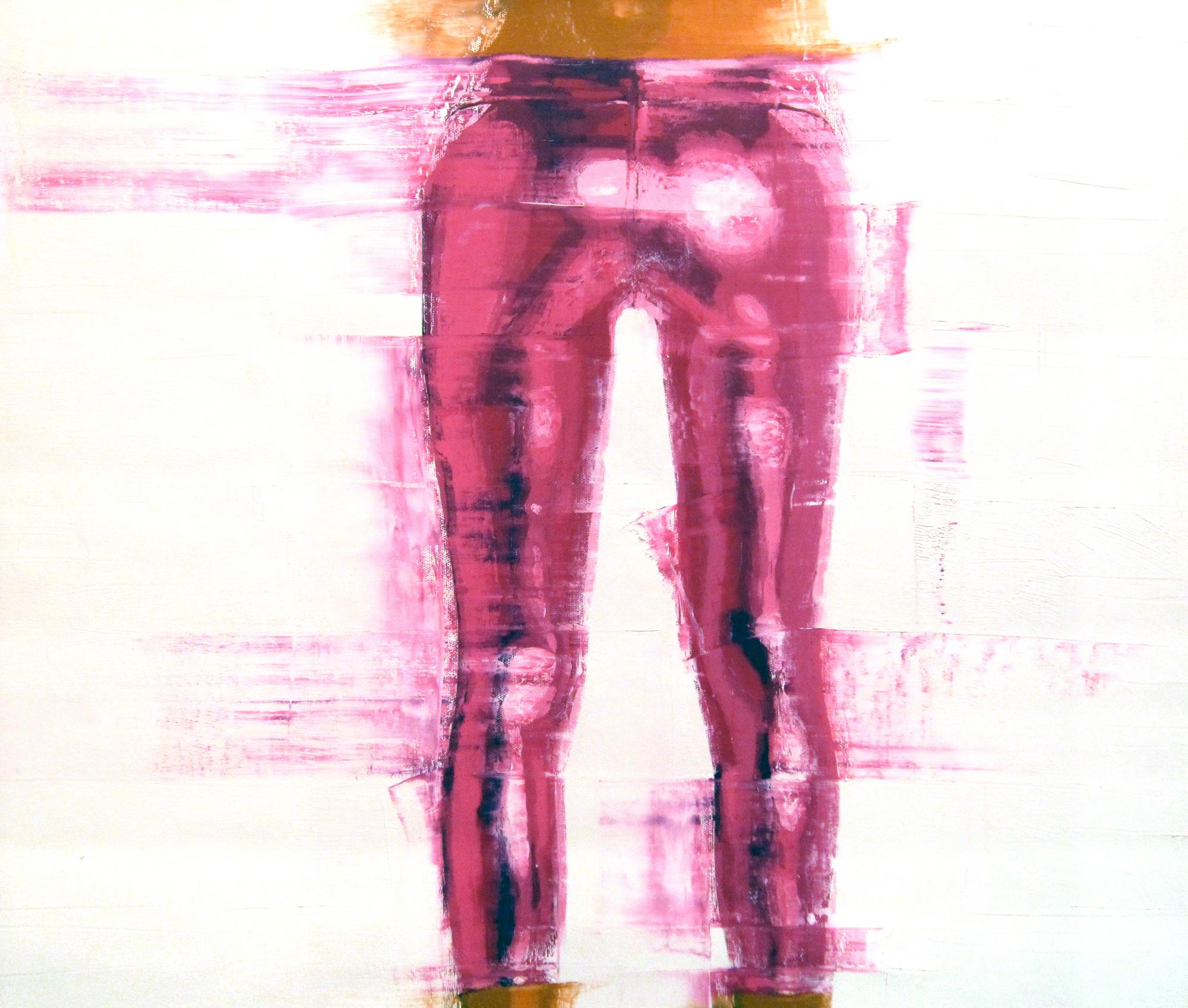 Pink metallic pants kp7eys