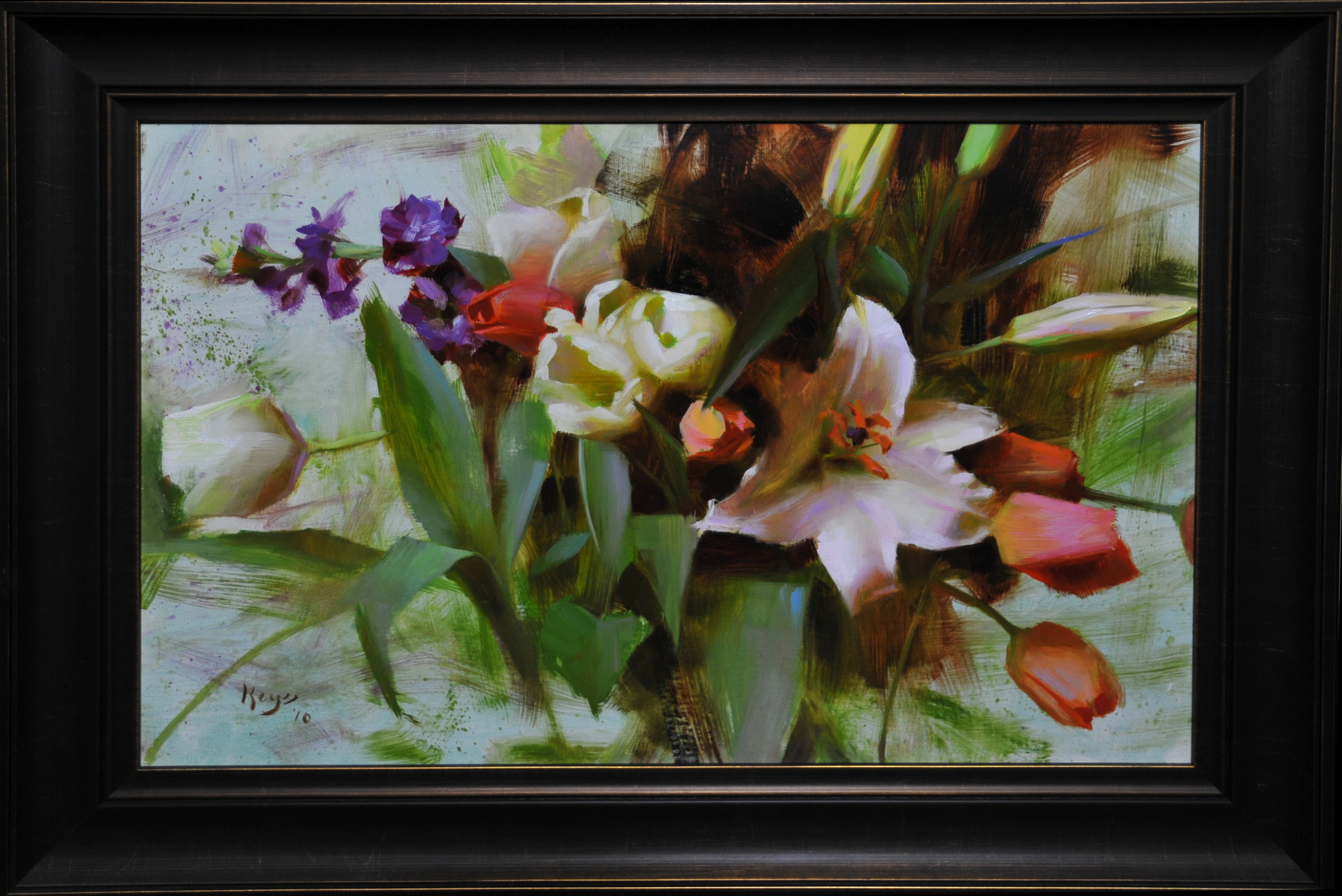 Lilies and tulips qtfx3p