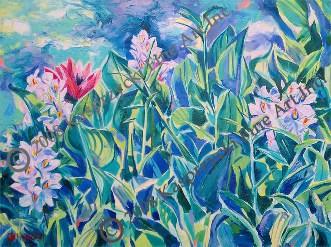 Water hyacinths gic wc m8i3iu