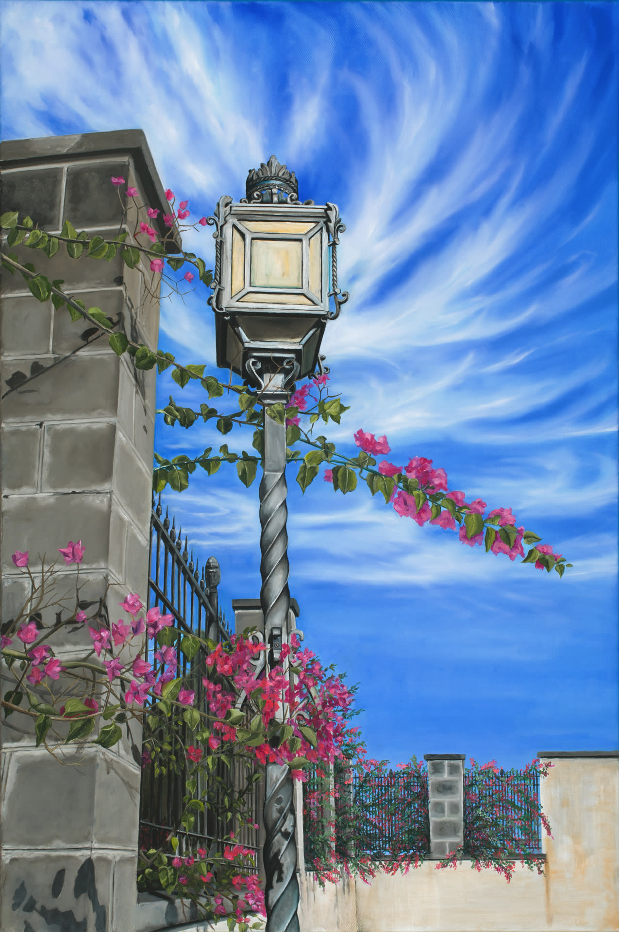Jerez walk  oil on canvas by monica marquez gatica mmg art studio rx9maf
