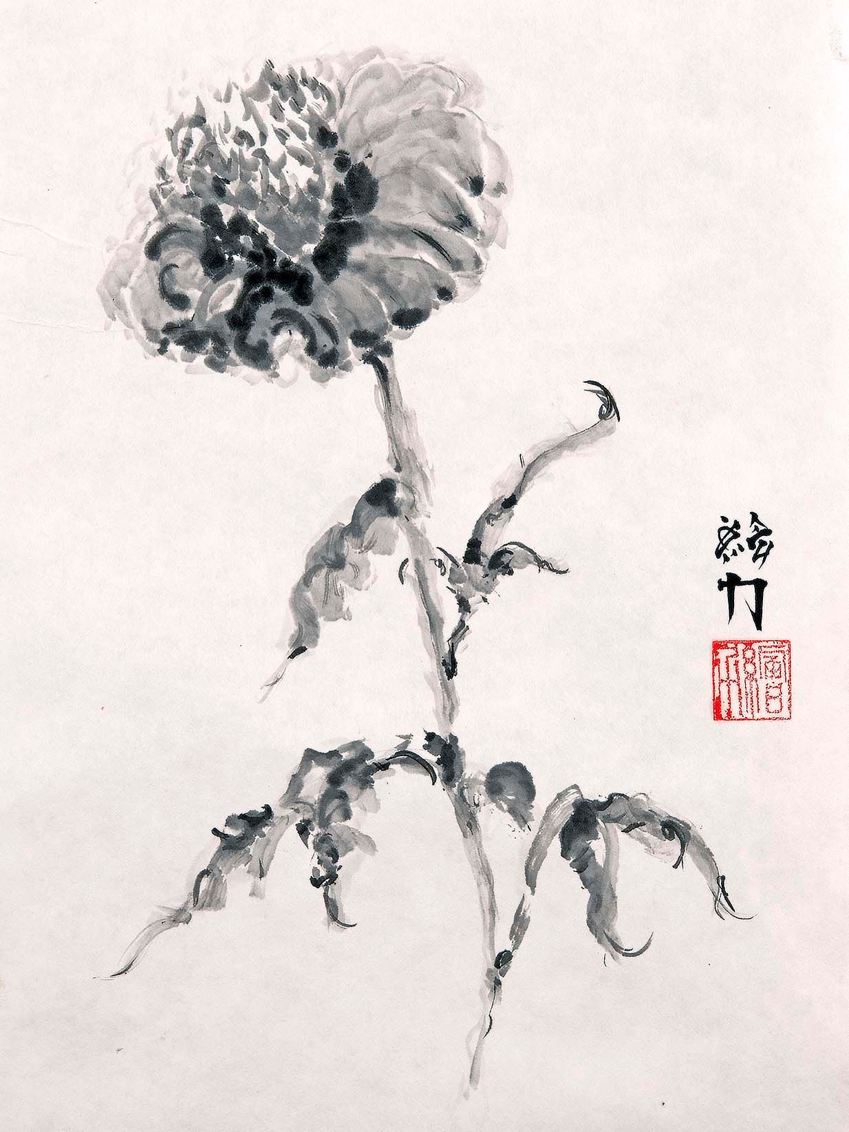 Hombretheartist sumie flower 1 forwebsite th4ea4