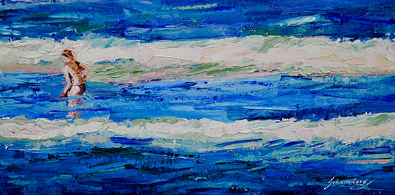 Debra schaumberg one with the sea original zmvyjq