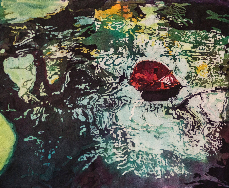 Muffy clark gill agua xiii  the red leaf  2013  26.5 x 33 jpehwc