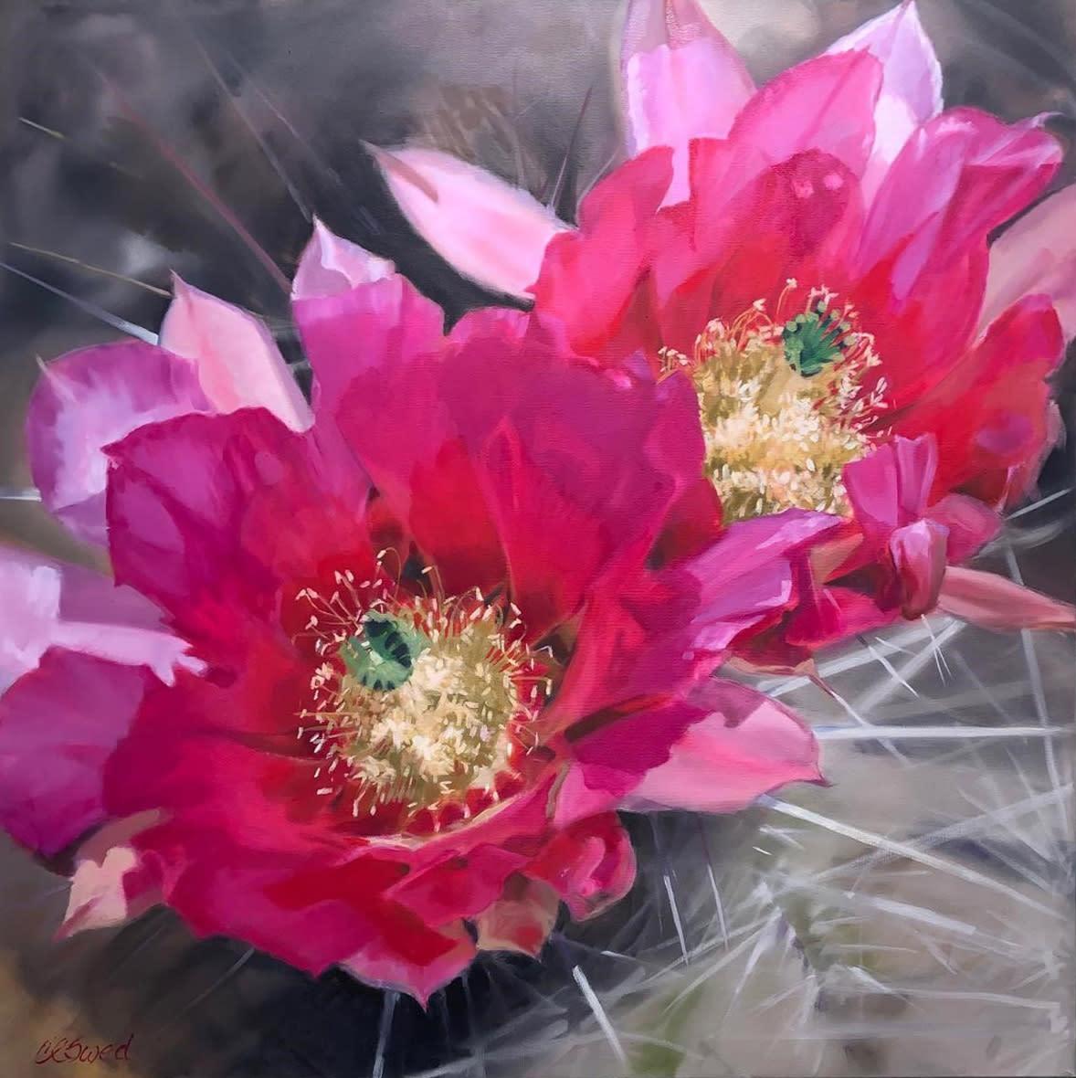 Hedgehog in bloom carol swed yebayx