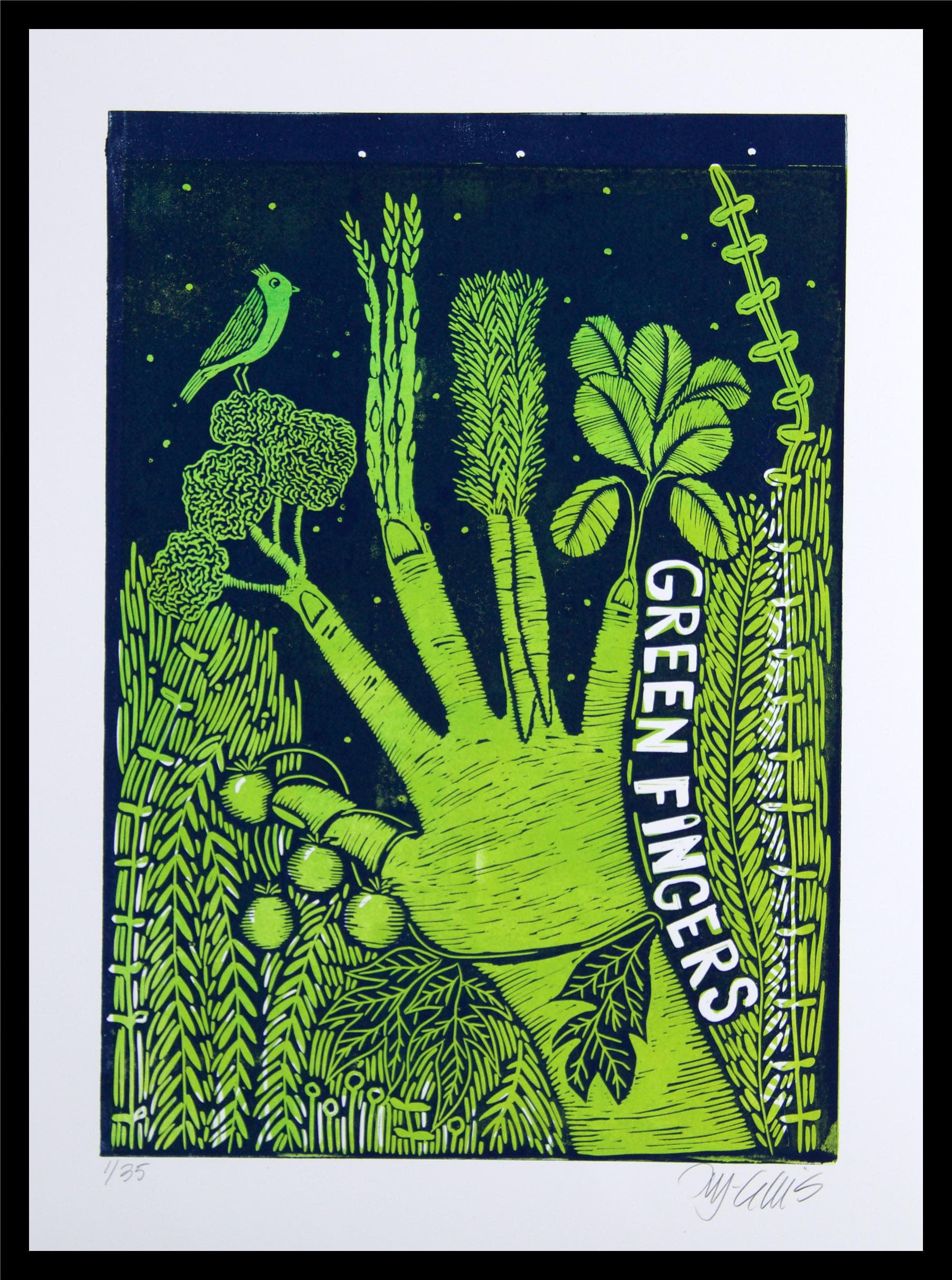 Green fingers framed kxexfm