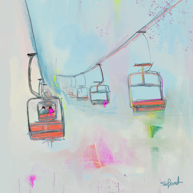 Ski slopes ii eevztk