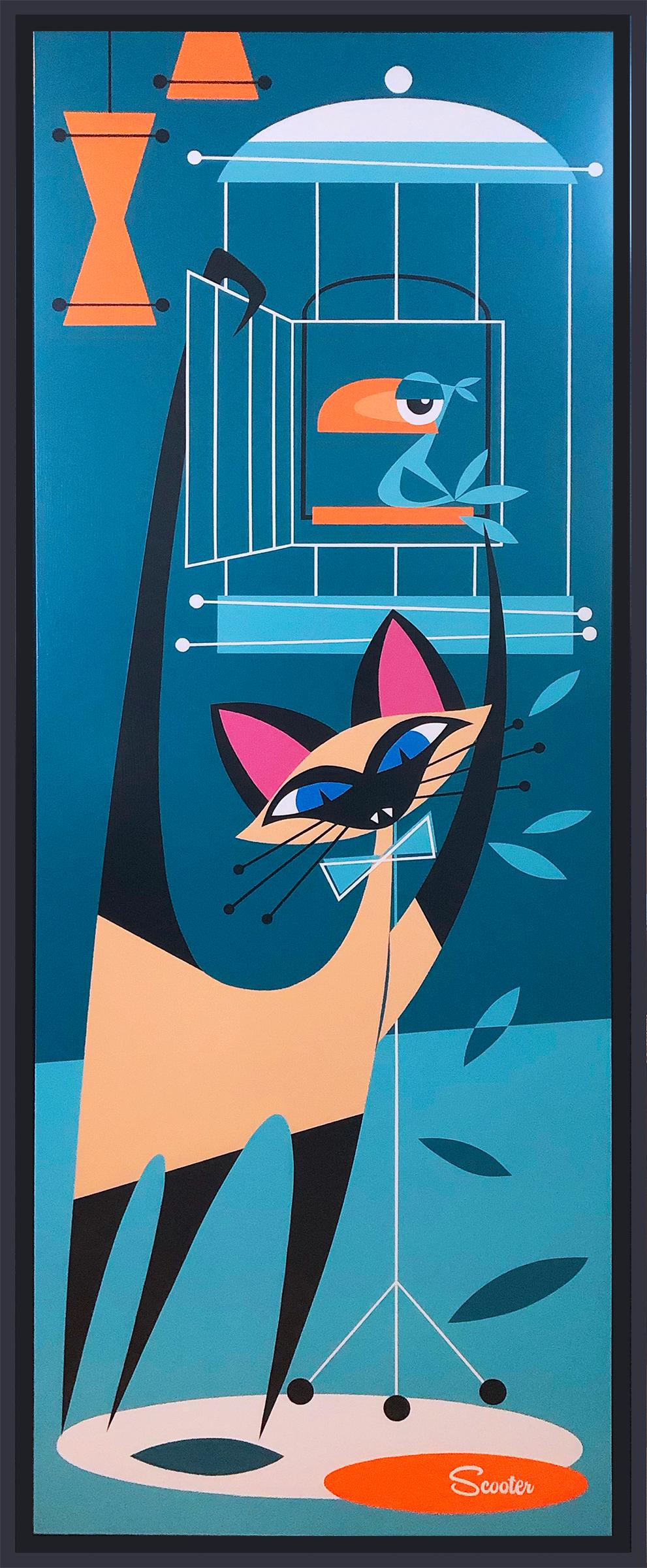 That darn cat 2 painting kg2muv