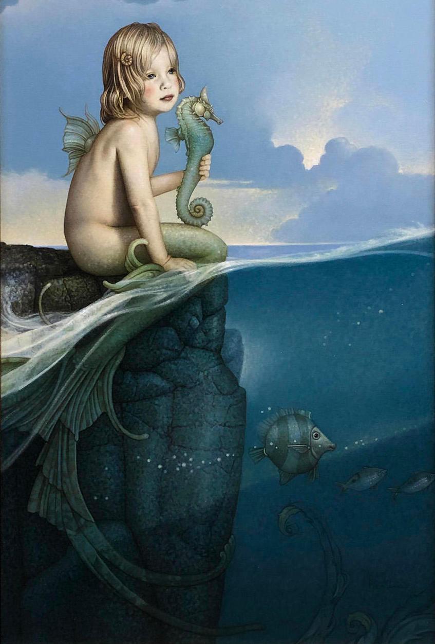 Michael parkes   baby mermaid copy a3jcl7