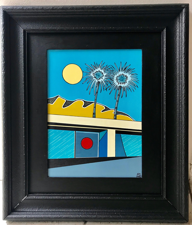 Arthur pochon   palm springs painting x60gsb