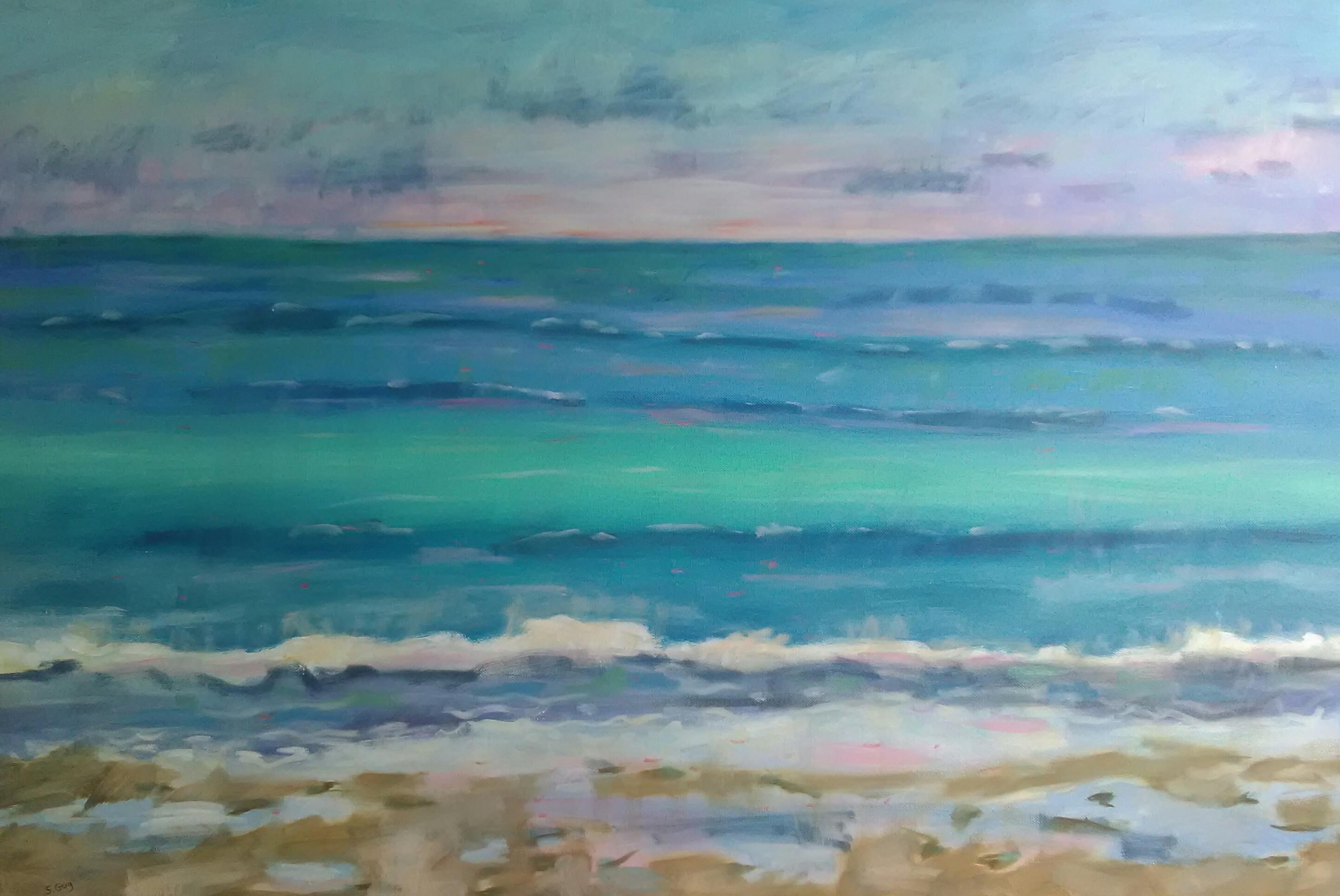 Ocean abstracted inzgzs