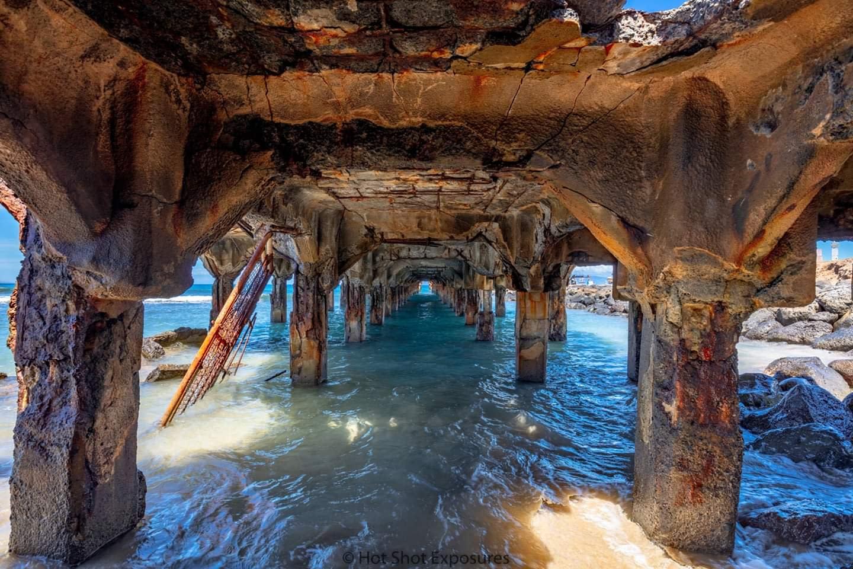Joe reece   abandoned in paradise   lahaina wharf mala pier boat dock fishing baby beach west side front street old historic charming high definition hawaii evo art maui gallery uepzoh