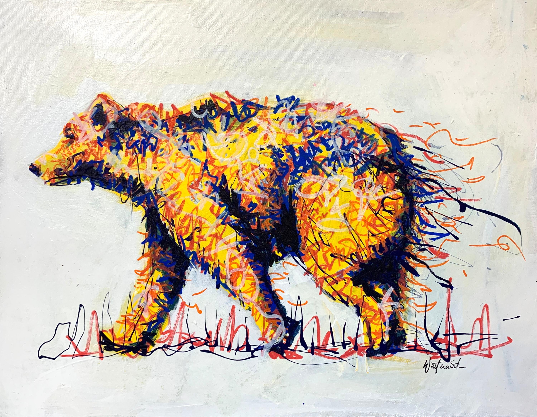 Bernice the bear 18x14 egeqit