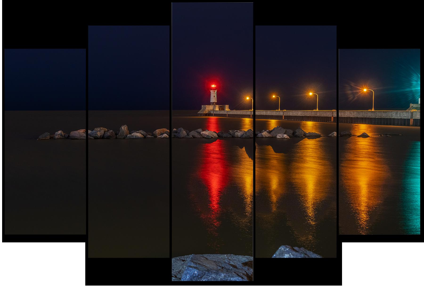Duluth north pier lighthouse cmr3qb