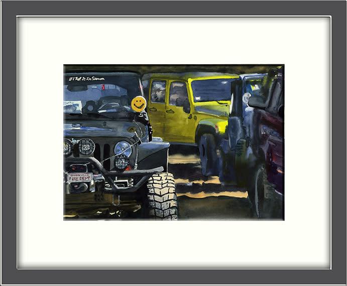 Off roading framed mwdlps