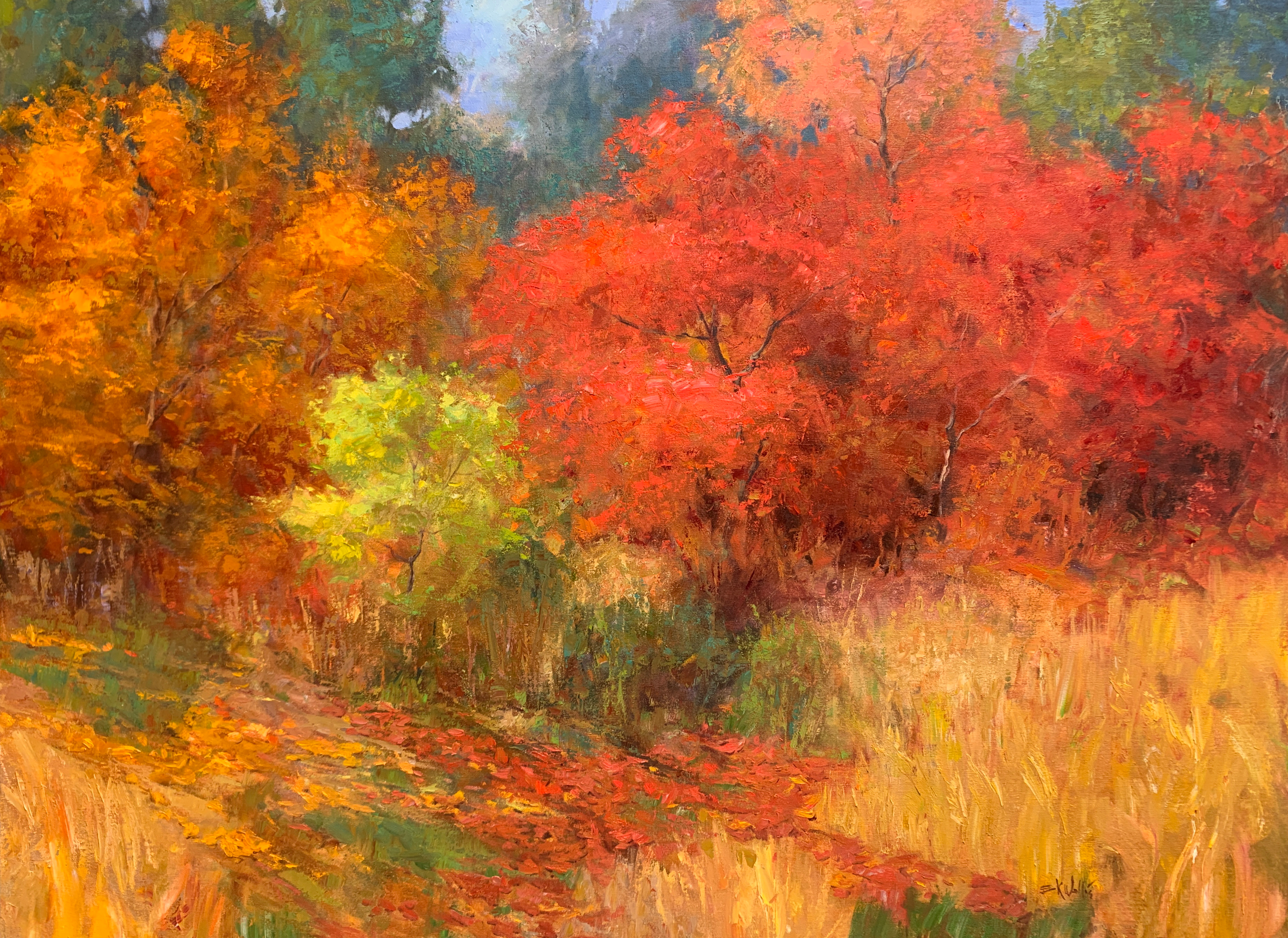 Colors of autumn 36x48 iyhwzx