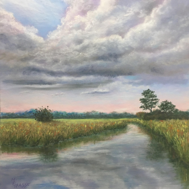Marsh reflections uuphof