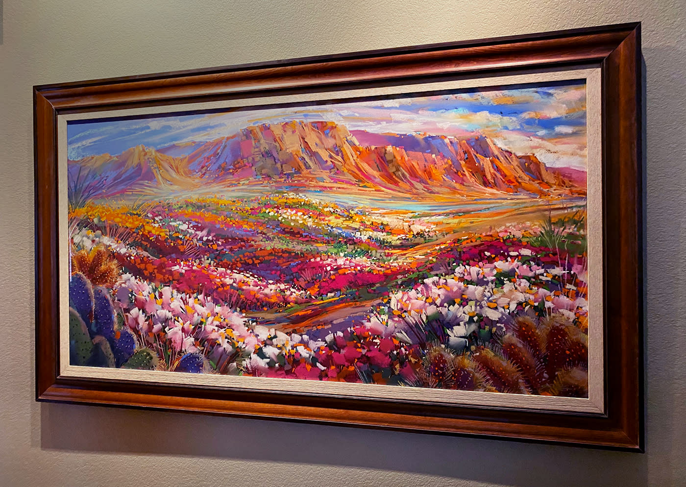 Glorious desert bloom frame g8ns9b