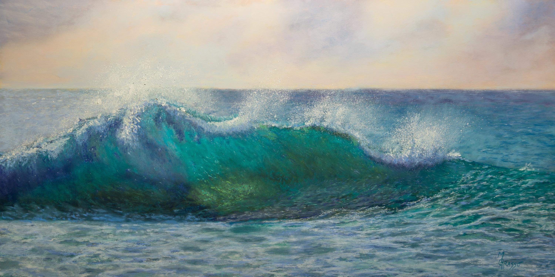 Turquoise morning surf 2 sm r0mjtp