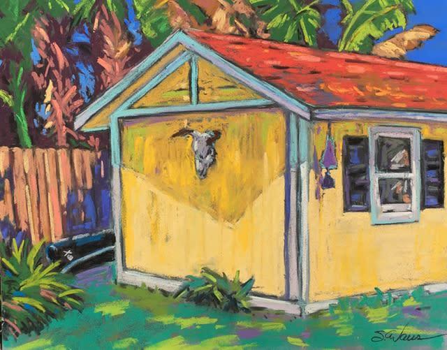 Yellow shed bxxs6l