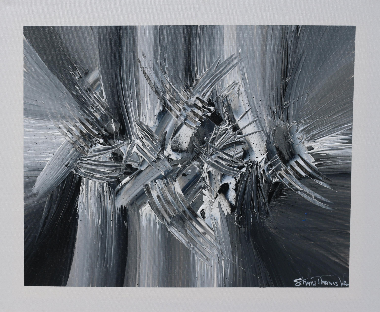 Shane vromanturbulence acrylic painting trmqlb
