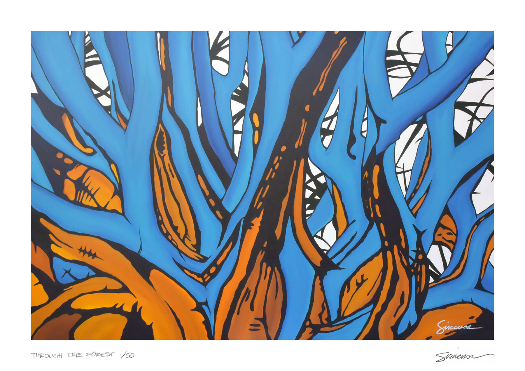Through the forest limited edition print bvv1ae