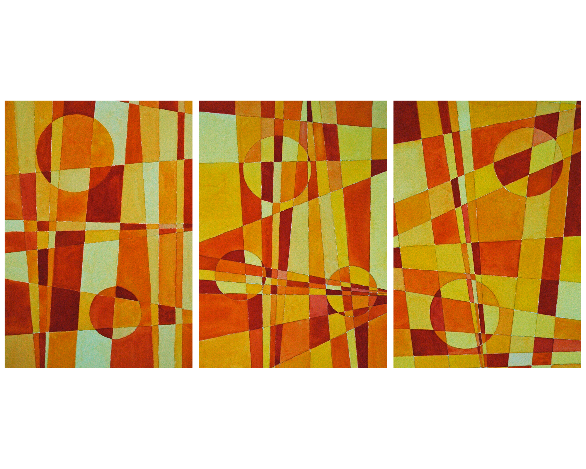 Triptych   yellows oranges and reds im8u7p