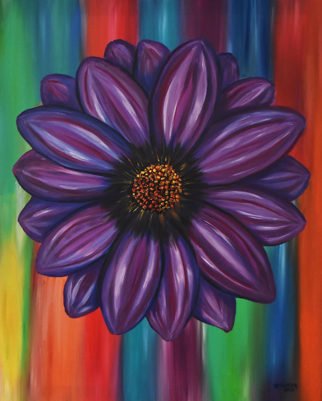 Purple flower bxjh7l