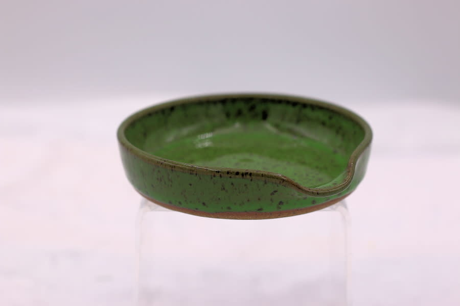 Anne chaney bright green spoon rest 1 1 pylnds