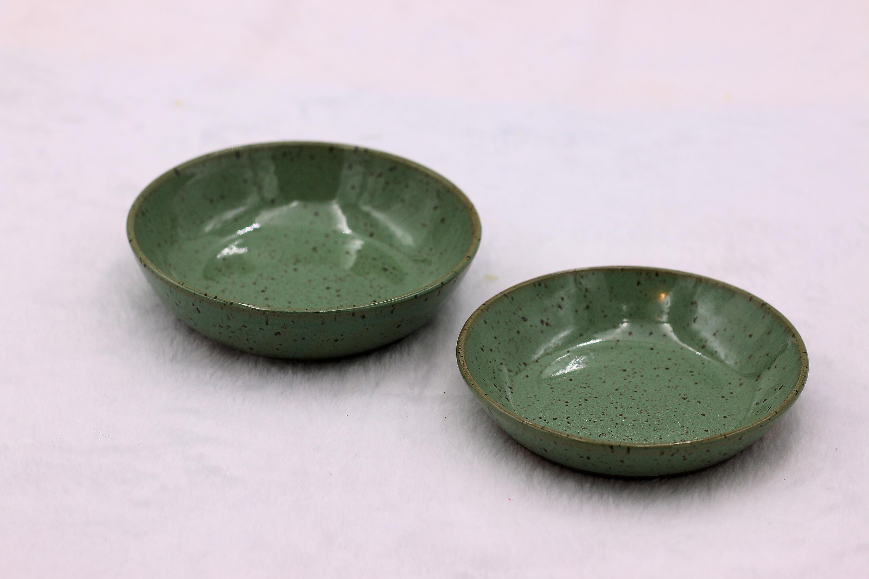 Anne chaney light green small bowls set tprs2p