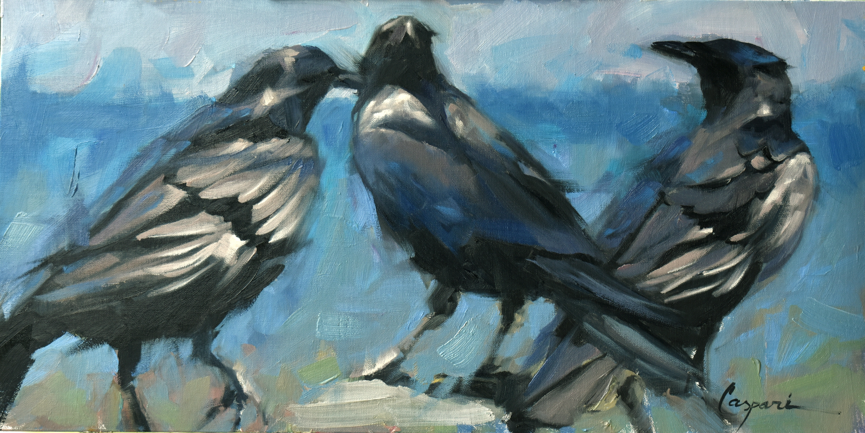 3 crows 20x10 oil 2020 uic7fv