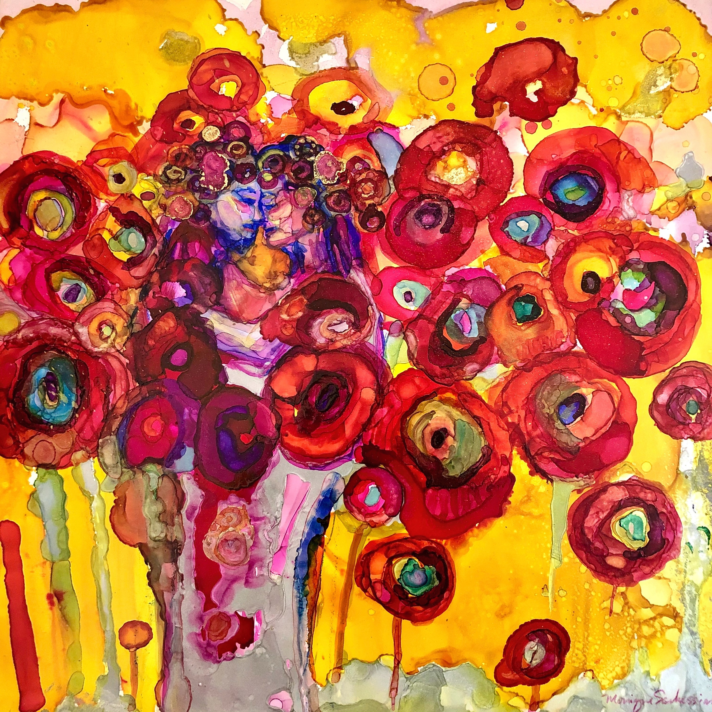 In the king s garden 4 alcohol ink on panel 12x12.jpg q5asvd