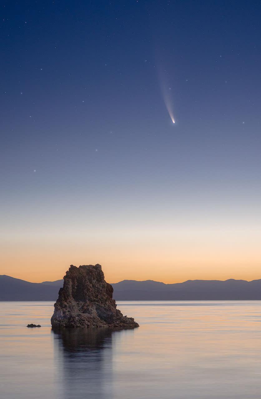Neowise comet zy3tvu