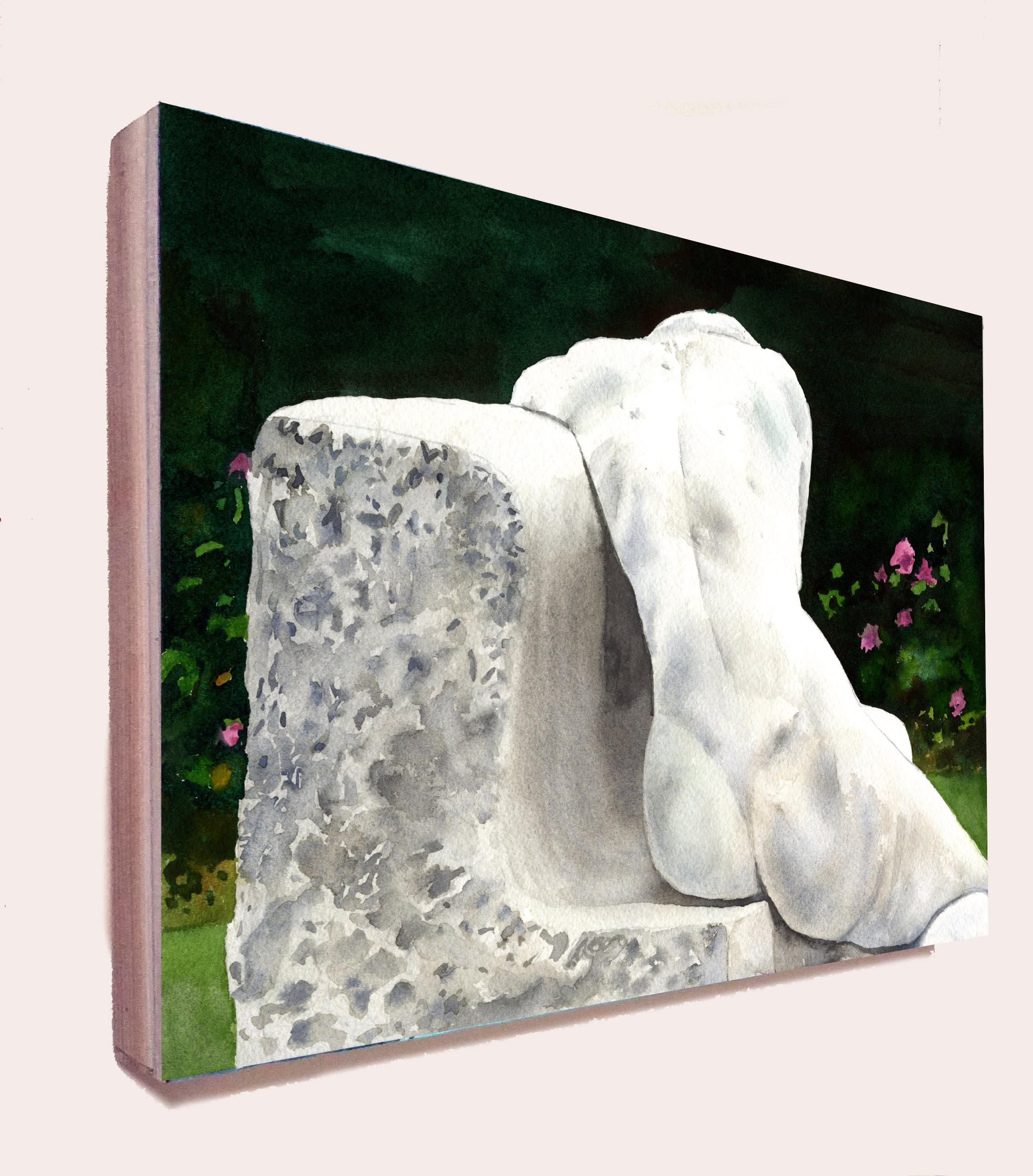 Sculpture of a woman 1 bok0nm