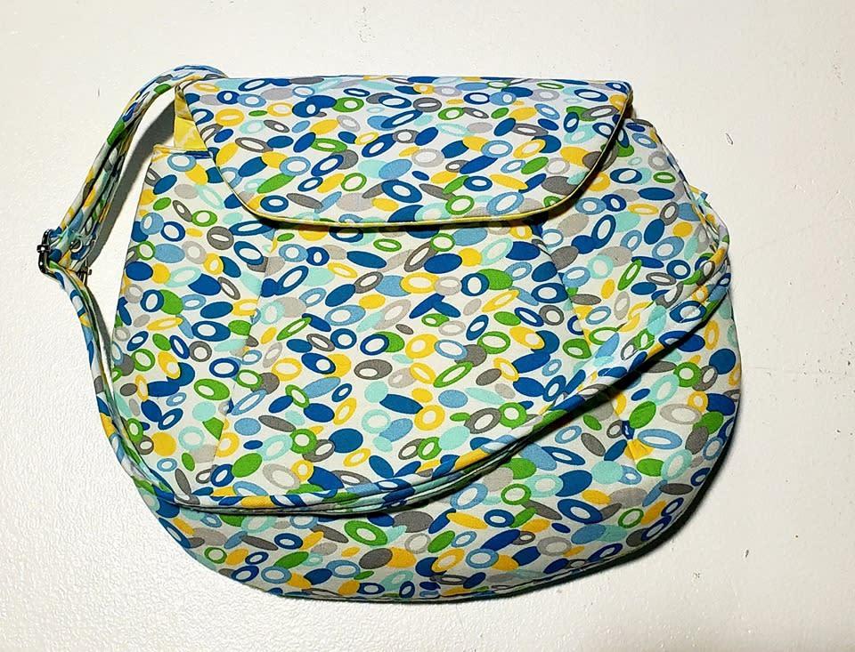 Handmade cloth womens shoulder purse handbag rr2kor