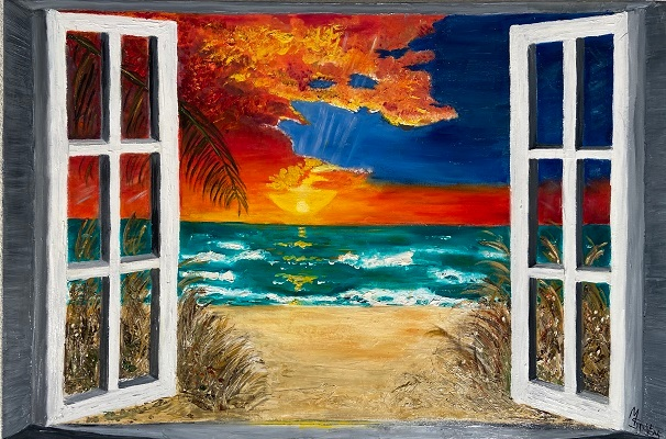 Paradise through the window small y0jrfy