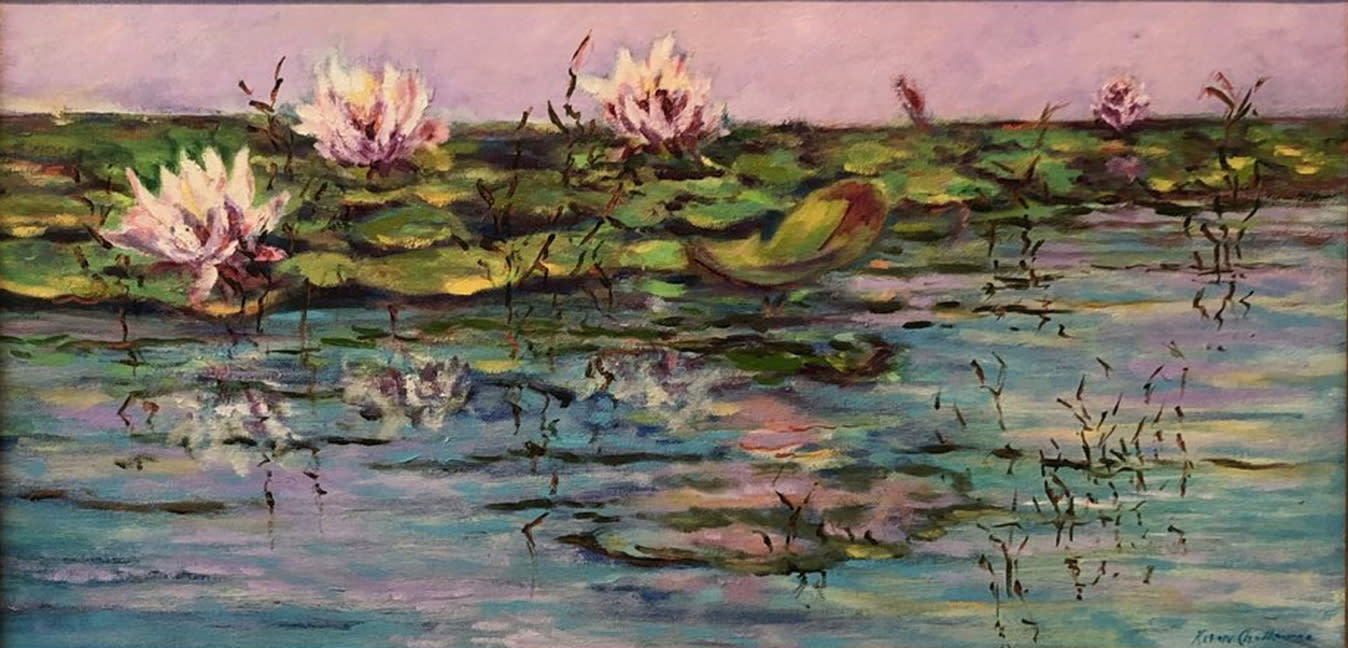 Water lilys unframed aoq1rb