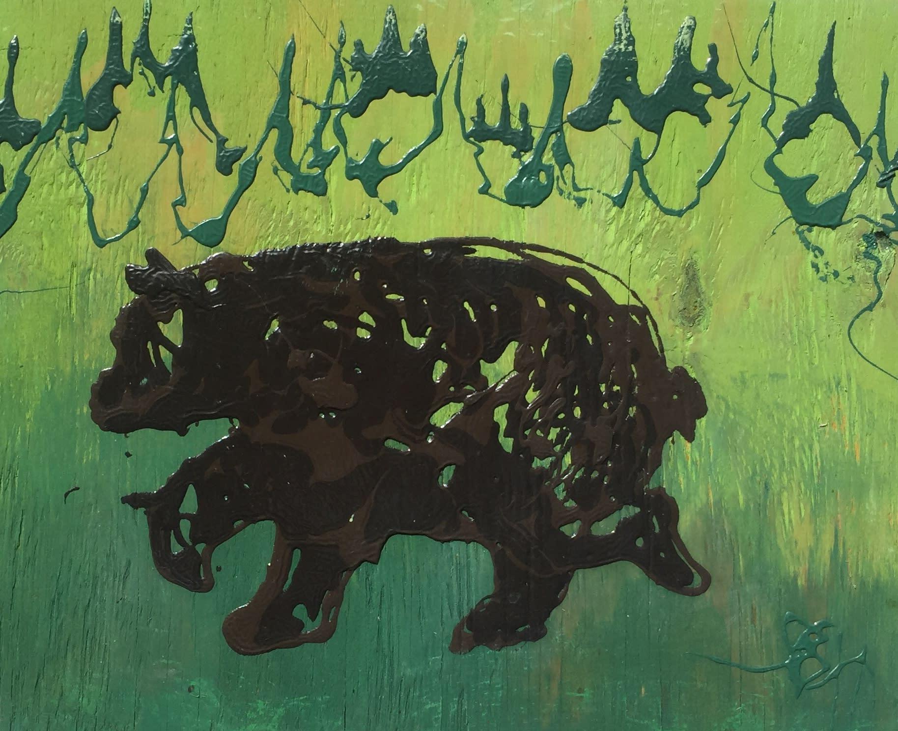 Bear sighting 11x14  225.00 yshpil