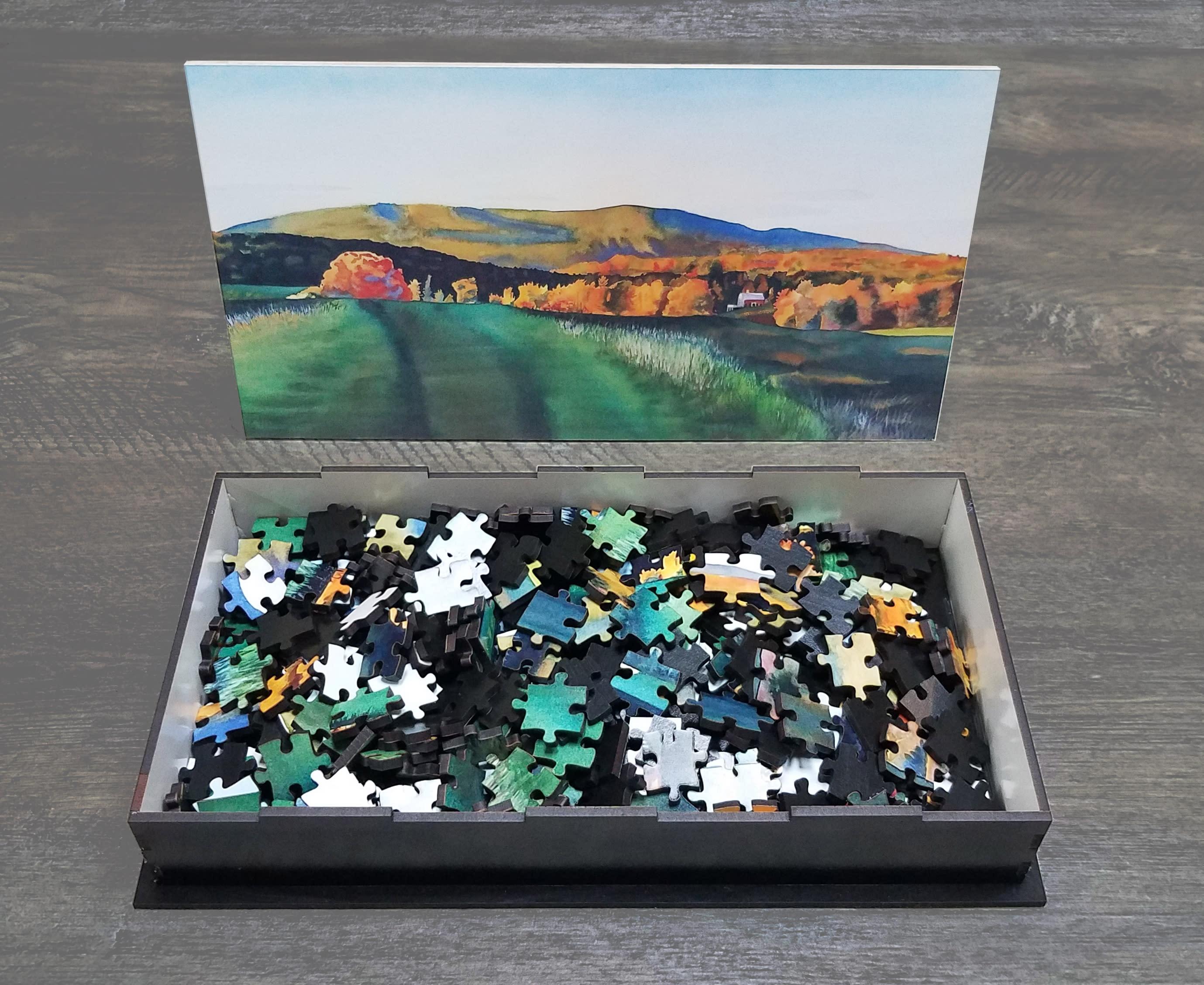 Black puzzle pieces mxonoy