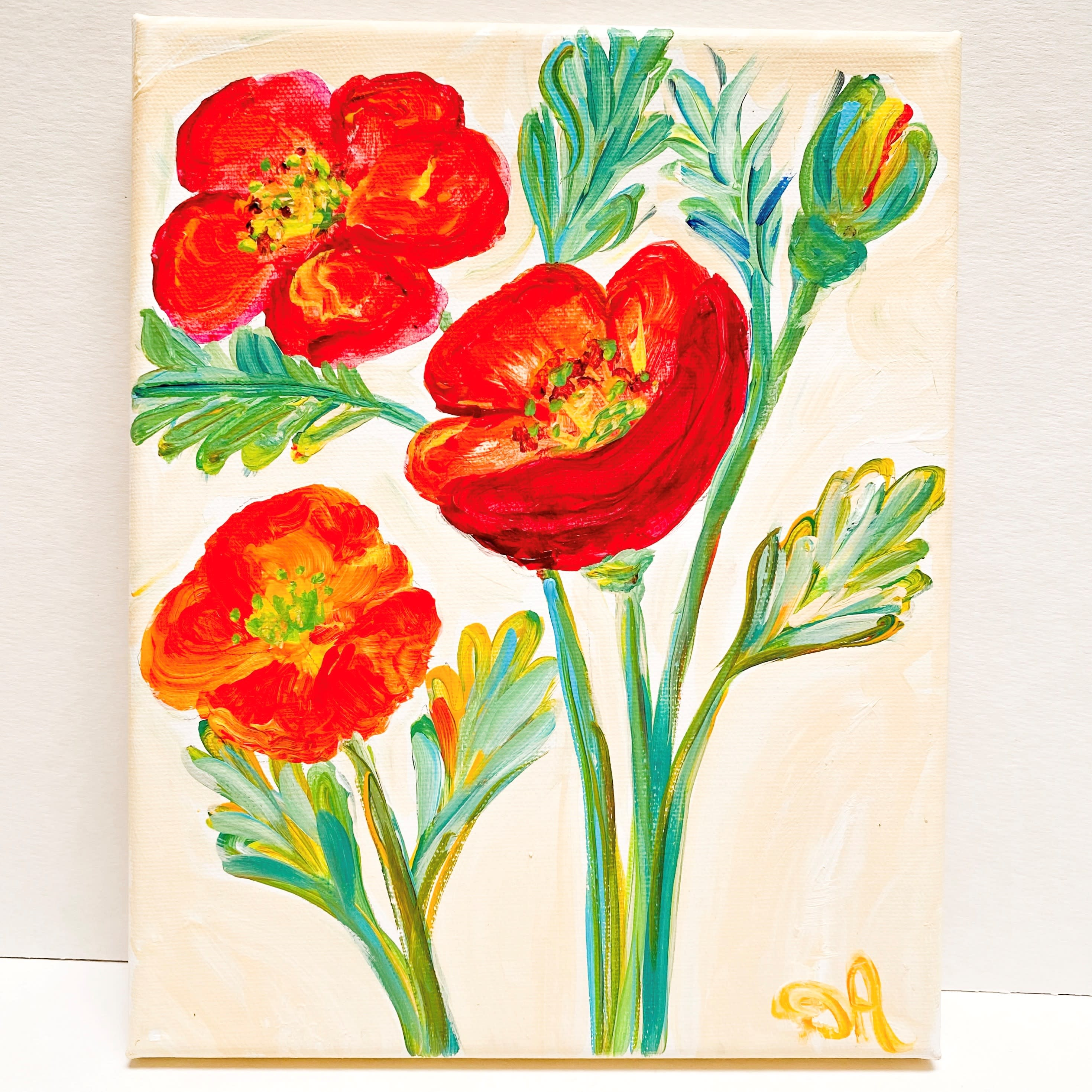 Happy poppies qbrhwg