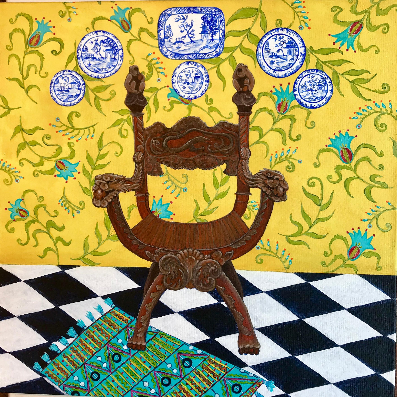 Cagraceportrait of mandarin chair 3 24x24 lmtf4f