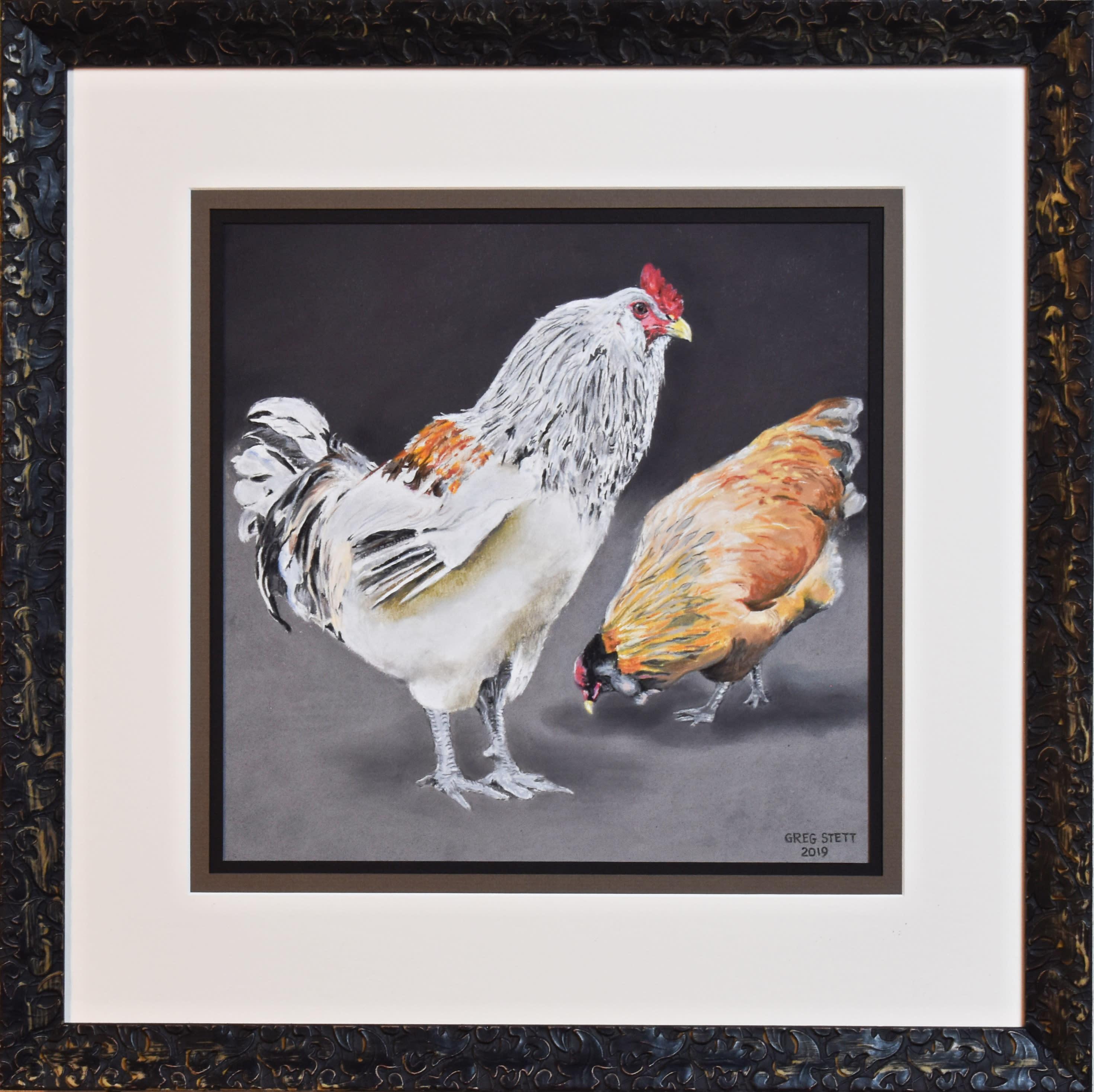 Vigilant rooster d3lqfo