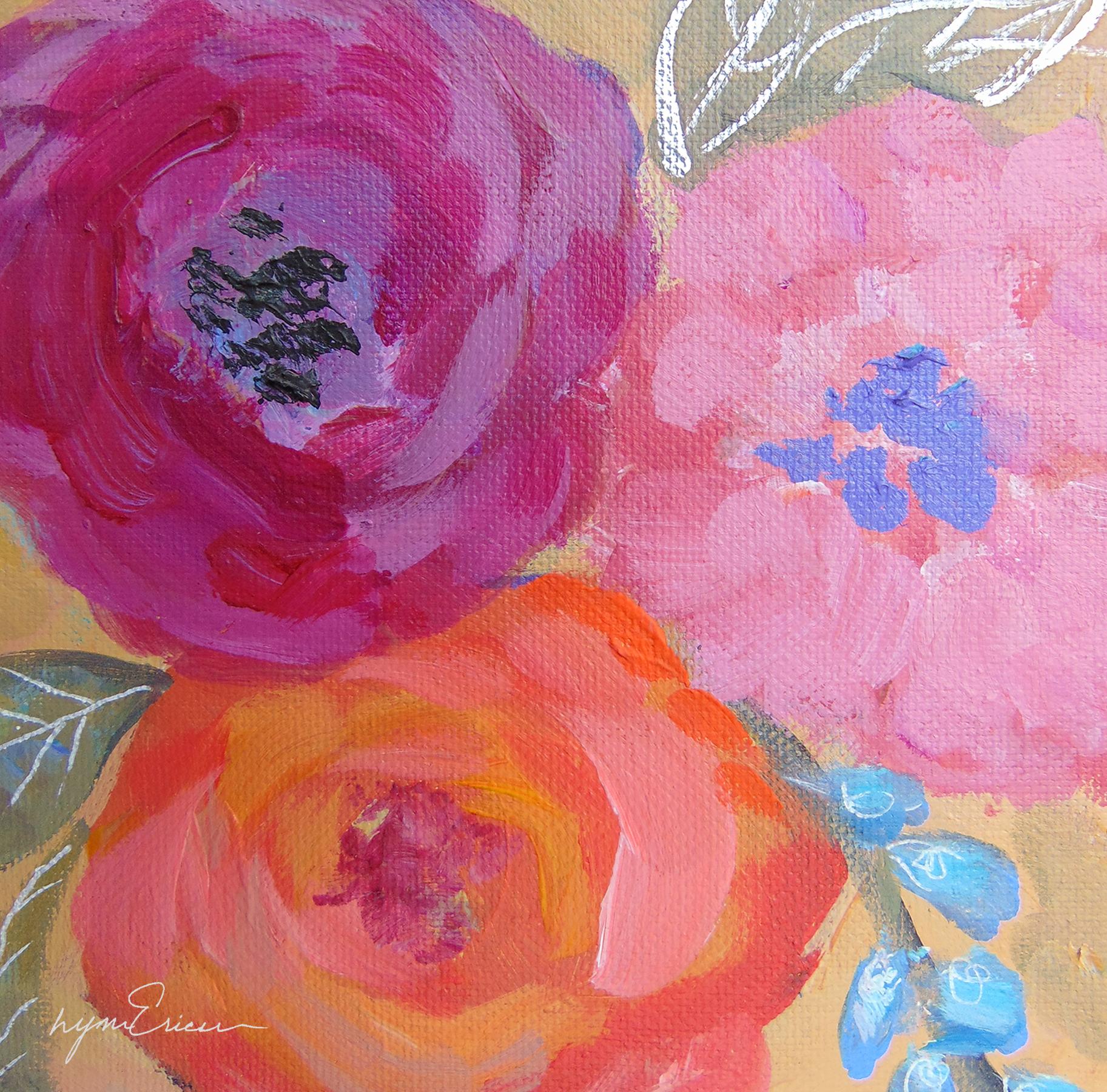 Three flowers diqmzj