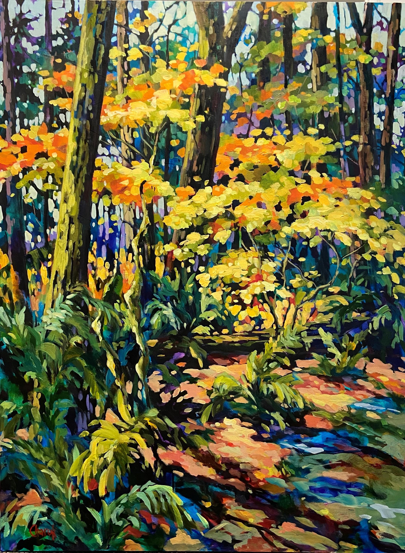 Forest bathing 48 x 36 dozotp