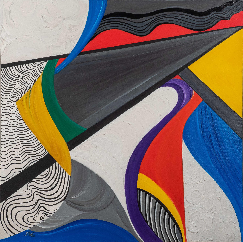 Imagination 40x40 acrylic concrete on canvas  6 900 aqsrpf
