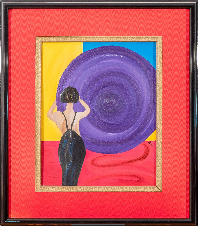 Looking forward 28x26 acrylic on canvas  4 900 pxvlwh
