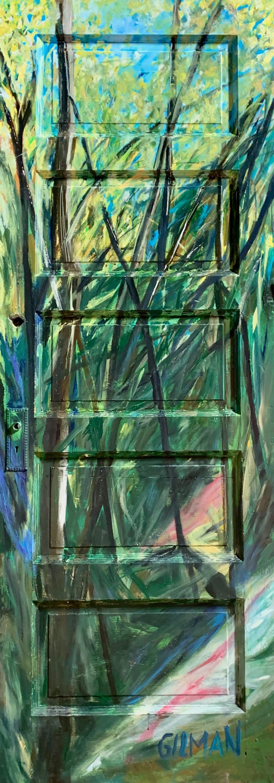 The green portal   door vgxbmh