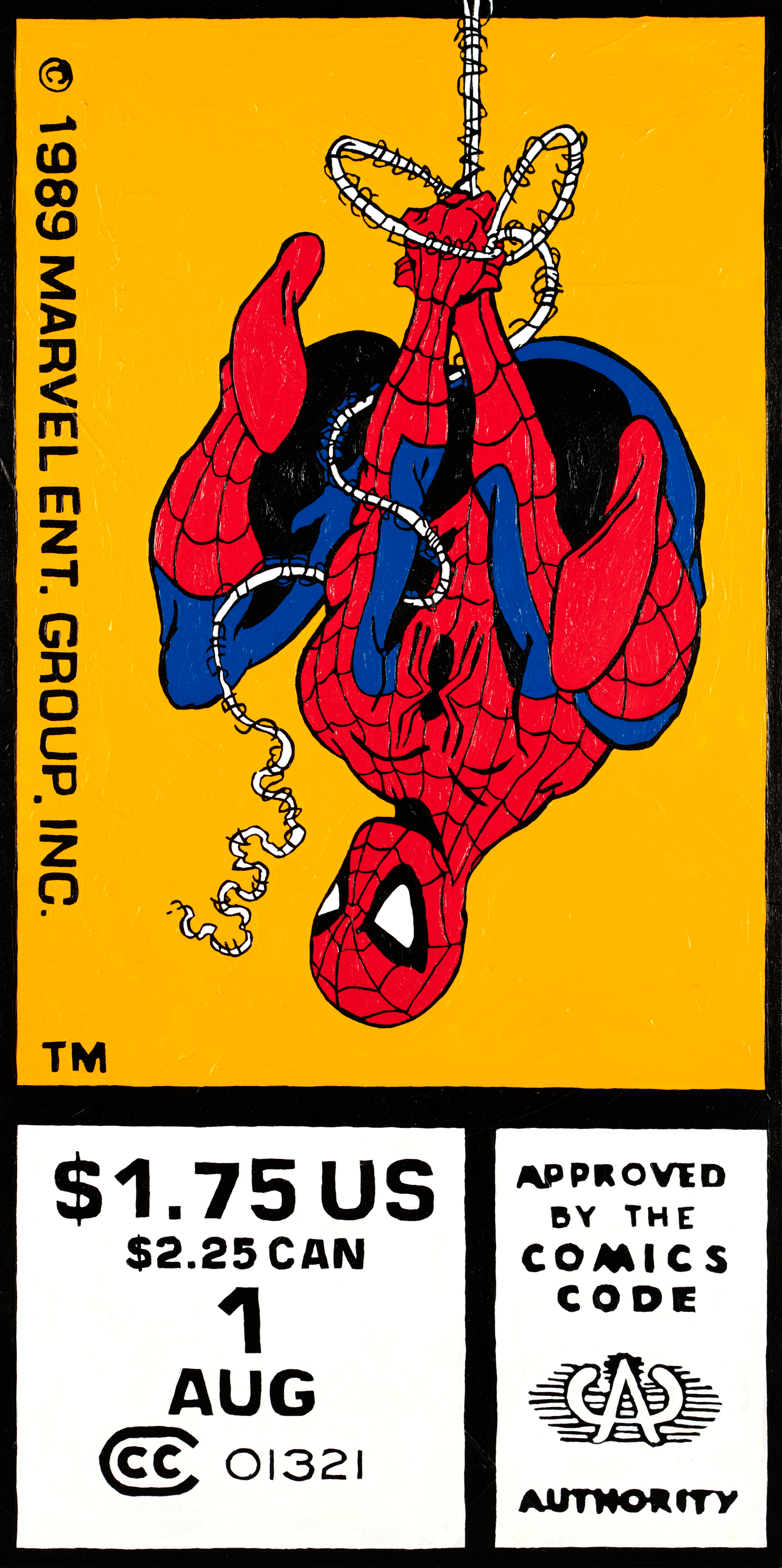 Spiderman1 18x36 2020 toddmonk bhsnvi