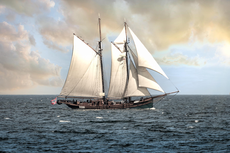 Gaff schooner froya nor c3b7f6